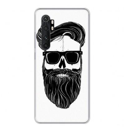Coque en silicone Xiaomi Mi Note 10 lite - Skull Hipster