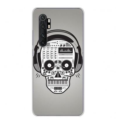 Coque en silicone Xiaomi Mi Note 10 lite - Skull Music