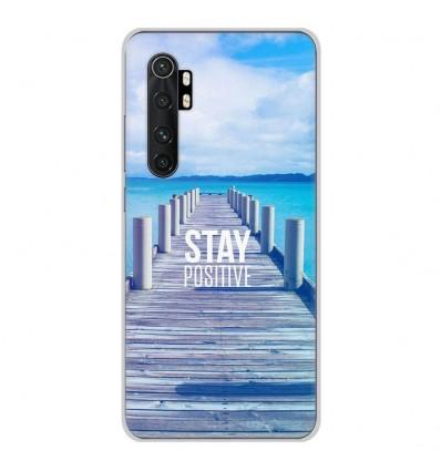Coque en silicone Xiaomi Mi Note 10 lite - Stay positive