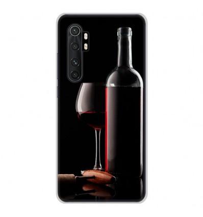 Coque en silicone Xiaomi Mi Note 10 lite - Vin