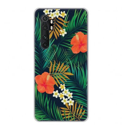 Coque en silicone Xiaomi Mi Note 10 lite - Tropical