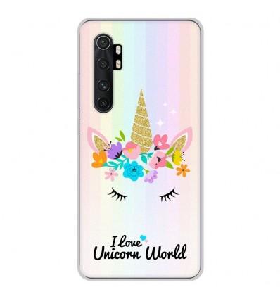 Coque en silicone Xiaomi Mi Note 10 lite - Unicorn World