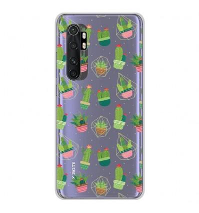 Coque en silicone Xiaomi Mi Note 10 lite - Cactus