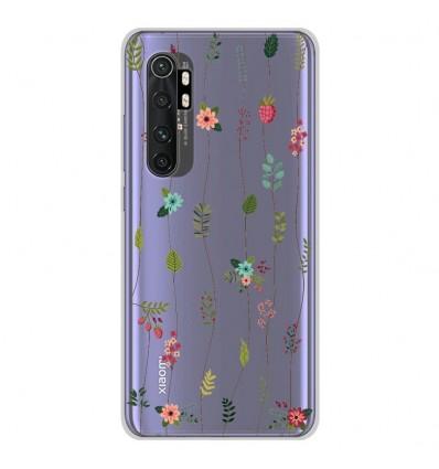 Coque en silicone Xiaomi Mi Note 10 lite - Montée de fleurs