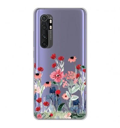 Coque en silicone Xiaomi Mi Note 10 lite - Printemps en fleurs