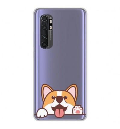 Coque en silicone pour Xiaomi Mi Note 10 lite - Coucou Corgi