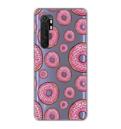 Coque en silicone Xiaomi Mi Note 10 lite - Donuts