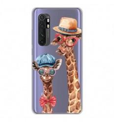 Coque en silicone Xiaomi Mi Note 10 lite - Funny Girafe