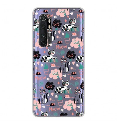 Coque en silicone Xiaomi Mi Note 10 lite - Miaou
