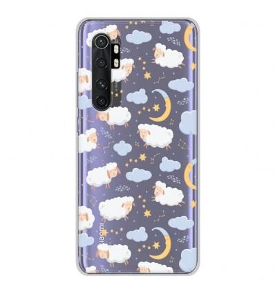 Coque en silicone Xiaomi Mi Note 10 lite - Mouton Nuage