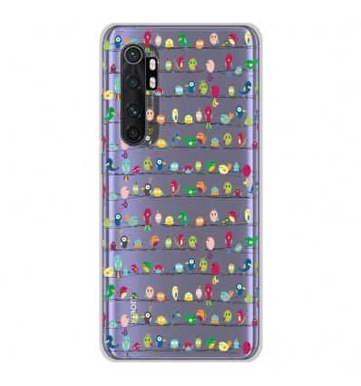 Coque en silicone Xiaomi Mi Note 10 lite - Oiseaux
