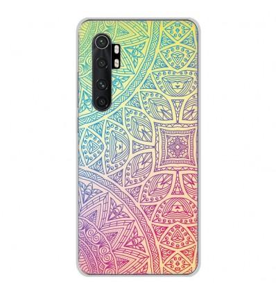 Coque en silicone Xiaomi Mi Note 10 lite - Mandala Pastel
