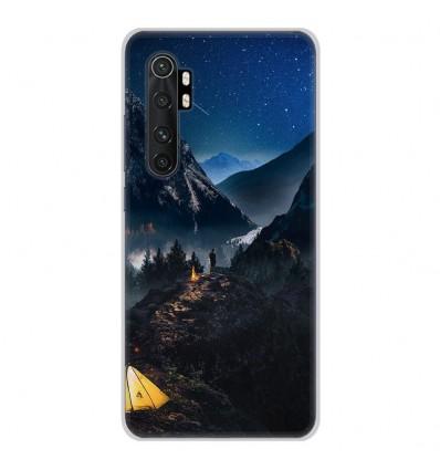 Coque en silicone Xiaomi Mi Note 10 lite - Seul en Montagne