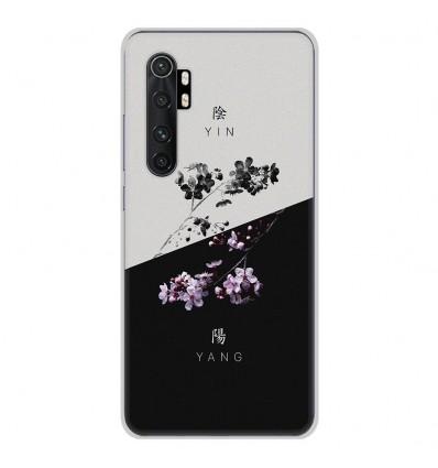 Coque en silicone Xiaomi Mi Note 10 lite - Yin et Yang