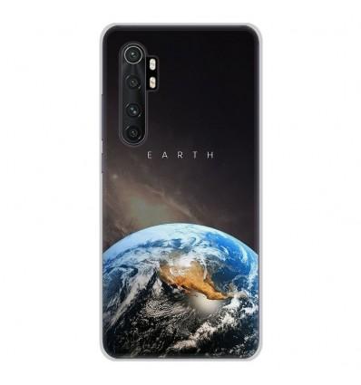 Coque en silicone Xiaomi Mi Note 10 lite - Earth