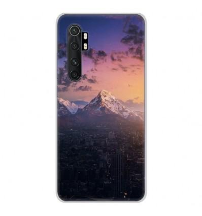 Coque en silicone Xiaomi Mi Note 10 lite - Montagnes urbaines