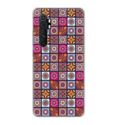 Coque en silicone Xiaomi Mi Note 10 lite - Patchwork Mandala