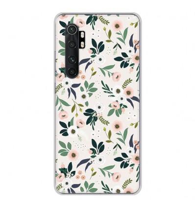 Coque en silicone Xiaomi Mi Note 10 lite - Flowers