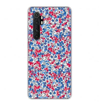 Coque en silicone Xiaomi Mi Note 10 lite - Liberty Wiltshire Bleu