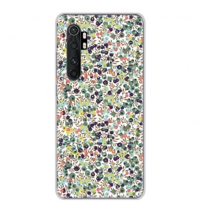 Coque en silicone Xiaomi Mi Note 10 lite - Liberty Wiltshire Vert