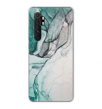 Coque en silicone Xiaomi Mi Note 10 lite - Zoom sur Pierre Vert