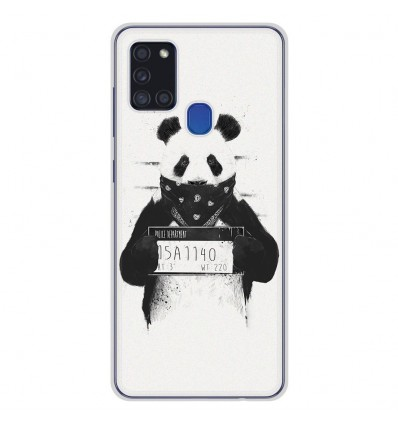 Coque en silicone Samsung Galaxy A21S - BS Bad Panda