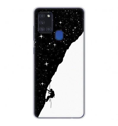 Coque en silicone Samsung Galaxy A21S - BS Nightclimbing