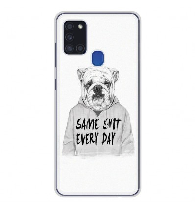 Coque en silicone Samsung Galaxy A21S - BS Same shit