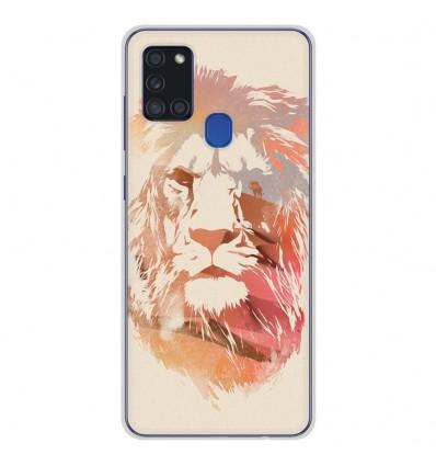 Coque en silicone Samsung Galaxy A21S - RF Desert Lion