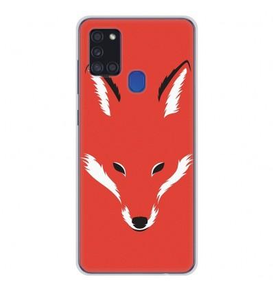 Coque en silicone Samsung Galaxy A21S - RF Foxy Shape