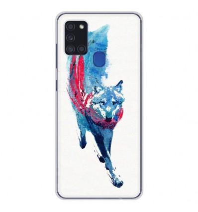 Coque en silicone Samsung Galaxy A21S - RF Lupus Lupus