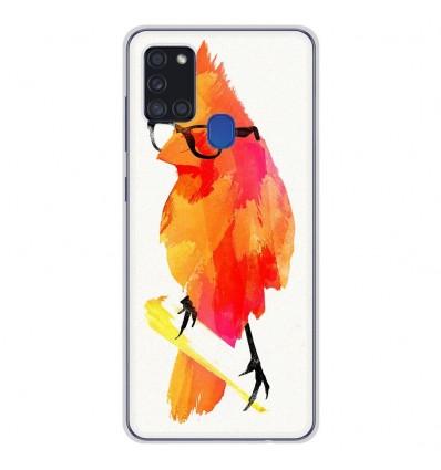 Coque en silicone pour Samsung Galaxy A21S - RF Punk Birdy