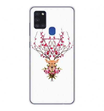 Coque en silicone Samsung Galaxy A21S - RF Spring deer