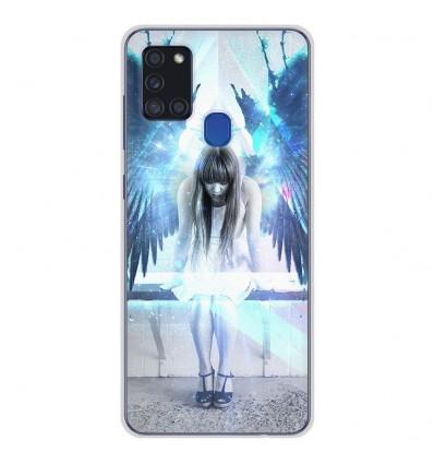 Coque en silicone Samsung Galaxy A21S - Angel