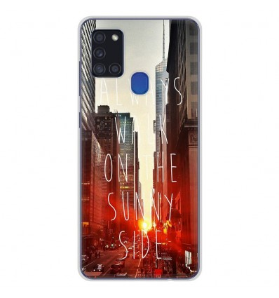 Coque en silicone pour Samsung Galaxy A21S - Sunny side