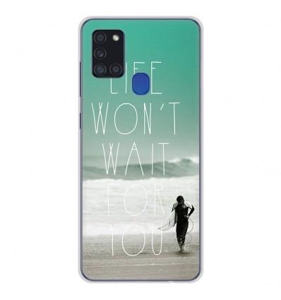 Coque en silicone Samsung Galaxy A21S - Surfer