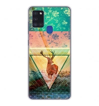 Coque en silicone Samsung Galaxy A21S - Cerf swag