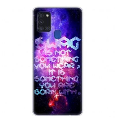 Coque en silicone Samsung Galaxy A21S - Cosmic swag