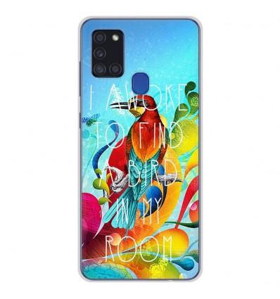 Coque en silicone Samsung Galaxy A21S - Mocking bird