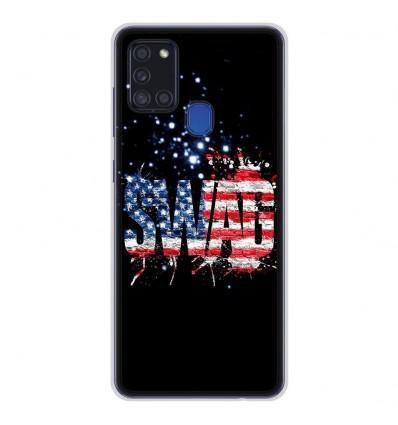 Coque en silicone pour Samsung Galaxy A21S - Swag usa