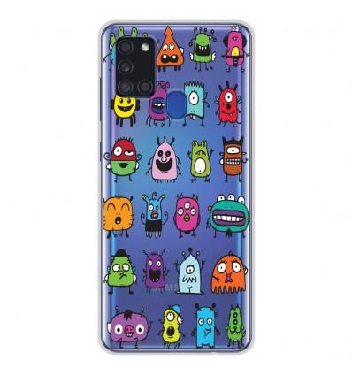 Coque en silicone Samsung Galaxy A21S - Alien