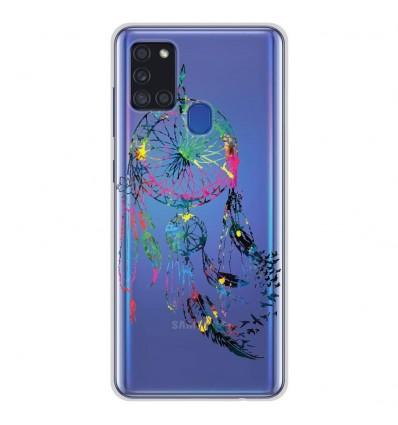 Coque en silicone Samsung Galaxy A21S - Dreamcatcher Gris