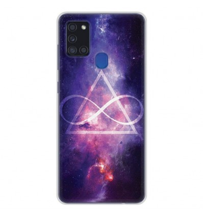 Coque en silicone Samsung Galaxy A21S - Infinite Triangle