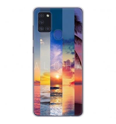 Coque en silicone pour Samsung Galaxy A21S - Aloha
