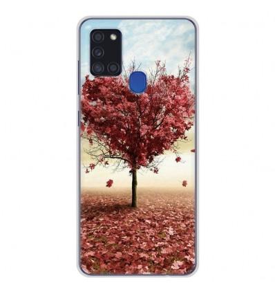 Coque en silicone Samsung Galaxy A21S - Arbre Love