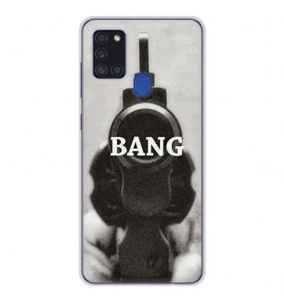 Coque en silicone pour Samsung Galaxy A21S - Bang
