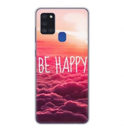 Coque en silicone Samsung Galaxy A21S - Be Happy nuage