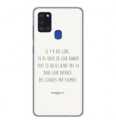Coque en silicone Samsung Galaxy A21S - Citation 01