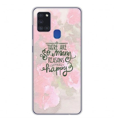 Coque en silicone Samsung Galaxy A21S - Citation 02
