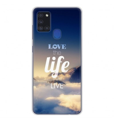 Coque en silicone pour Samsung Galaxy A21S - Citation 06